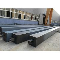 Quality Building Construction Material Structural Steel /  Box Steel Column Beams Fabrication for sale