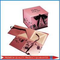 Quality Elegant Customized Design Chipboard Paper Gift Packaging Box Folding Shape for sale