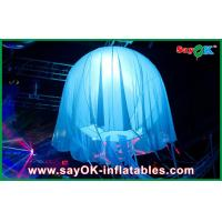 Quality Colorful LED Jellyfish Inflatable Lighting Decoration For Holiday for sale