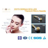 China Stainless Zgts Micro Derma Pen Titanium 192 Needles Wrinkle Removal For Beauty Spa on sale