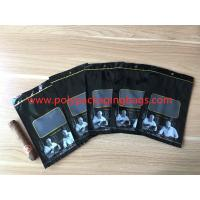 Quality Custom Loge Cigar Moisturizing Zipper Plastic Bag Size W135 x L255mm for sale