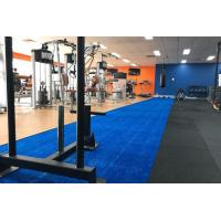 Quality 2.4m* 18m Premium Blue Double Track Sled Turf 10mm for Crossfit/Gym Area for sale