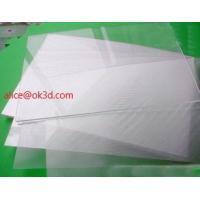 Quality OK3D lens lenticular factory sell 70LPI PET 0.9MM 60X80CM for 3d lenticular printing by injekt print and UV offset print for sale