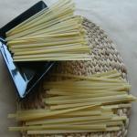 Quality Black rice fusilli pasta made by organic thai jasmine black rice for sale