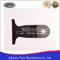 China 65x40mm BIM Bi Metal Multi Tool Accessories Quick Blade For Metal And Wood for sale