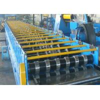 Buy Floor Galvanized Steel Decking Panel Roll Forming Machine PLC Control System at wholesale prices