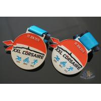 Quality XXL CORSAIRE Die Cating Awards Custom Sports Medals, Zinc Alloy Material With Soft Enamel Colors for sale