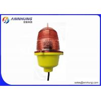 Quality GSM Cellphone Monitoring Aircraft Warning Light Red Steady Burning for sale