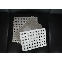 Quality Perforated Metal Ceiling Tiles Perforated Aluminum Panels Square / Rectangle for sale