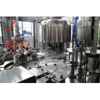 Quality 2.2kw Liquid Bottled Pure water, mineral water filling machines systems equipment 8 heads for sale