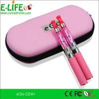 China Fashion e cigarette eGo ce4+ starter kits with heat from bottom colorful for choose on sale