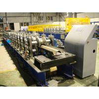 Quality Hot Dip Galvanized Highway Guardrail Roll Forming Machine With CE Certification for sale