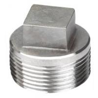 Quality duplex stainless ASTM A182 F64 square head plug for sale