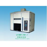 Quality Single - Chip Control Horizontal Vertical Flammability Test Equipment Corrosion Resistant for sale