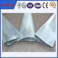 Quality Aluminum extrusion blade supplier, shutter fin extrusion aluminium price factory for sale