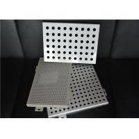 Quality Perforated Interior Decoration Aluminum Perforated Ceiling Panels Fireproof for sale