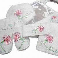 Quality Bath Accessories, Includes Bath Nylon Mitts and Bath Gloves, with Well and High-quality Control for sale