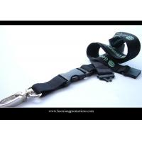 Buy Heat transfers printing lanyard with buckle release no minimum order at wholesale prices