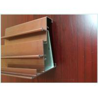 Quality Square / Flat Aluminum Structural Framing , Aluminum Door Frame Profile Custom Length for sale