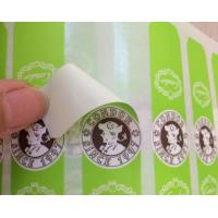 Quality Screen Printing Self Adhesive Sticky Labels For Plastic Bottles Eco Friendly for sale