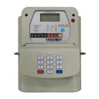 China STS Steel Material Smart Keypad Prepaid Gas Meter With Gas Vending System tamper protection on sale