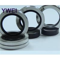 China Double lips stainless steel ptfe oil seal 60-75-7.5 on sale