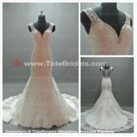 Quality white/Ivory Lace wedding dress bridal gown #AS1430 for sale