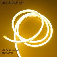 China 230V outdoor waterproof IP65 flexible led neon light for cinema on sale