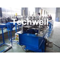 Quality Rack Beam Box Profile Roll Forming Machine with 11KW Main Power and 70mm Pallet Shaft Diameter for sale