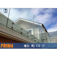 Quality best-selling fashionable stainless steel glass balcony railings for sale