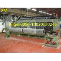 Quality High Working Efficiency PLC Double Twist Gabion Wire Mesh Machine for sale