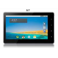 Quality 256MB 7 inch google android 2.3 tablet pc with gsm external 3g flash wifi camera for sale