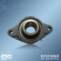 Quality 1 1/2 Inch Bearing , Cast Iron Pillow Bearing Block With Low Vibration UCFL208-24 for sale