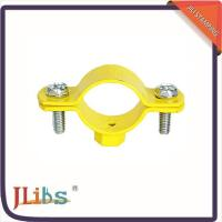 Quality Cast Iron Hanging Pipe Clamps , Industrial Pipe Clamp Bracket ISO9001 Certification for sale