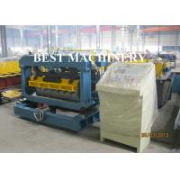 Quality Arc Shape Roll Tie / Gazed Shape Steel Tile Forming Machine Galvanized Aluminum for sale