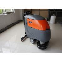 Quality Low Noise Twice Cleaning Width Battery Powered Floor Scrubber Not  For Soft Carpet for sale