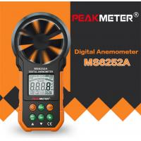 Hand Held Environmental Meter Air Volume Wind Velocity Meter Data Uploading Functions