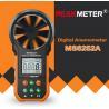 Hand Held Environmental Meter Air Volume Wind Velocity Meter Data Uploading Functions for sale