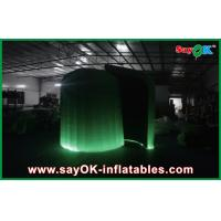 Quality Color Change Waterproof Inflatable Trade Show Booth Dome With Led for sale