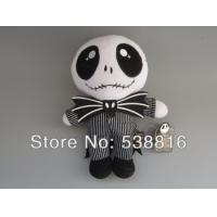Buy cheap Hot Sale The Nightmare Before Christmas 24cm Jack Skellington Plush Toy Dolls from wholesalers