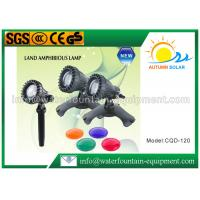 Quality Amphibious Underwater Fountain Lights For Garden Pond 38° Beam CQD - 102C for sale