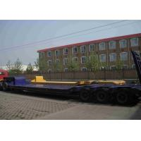 China SLL181209LD Low Bed Trailer Truck Three Axles 40ft For Transport Heavy Trucks on sale