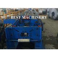 Quality Roofing Downpipe Channel Roll Forming Machine Seamless Square Shape for sale