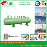 Quality Chain Grate Boiler Drum / Drum Boiler High Capacity with Energy Saving for sale