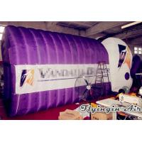 Quality Inflatable Football Helmet Tunnel with Printing Logo for Football and Sports for sale