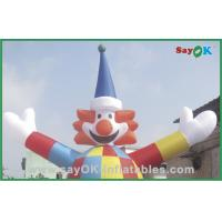Quality Advertising Clown Style Arm Flailing Tube Man With 750w Blower for sale