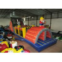 Quality Commercial inflatable obstacle courses construction worker inflatable obstacle courses inflatable builder courses for sale