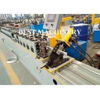 Quality Max 30 m/min Speed Cross T Bar Roll Forming Machine PLC Control for sale