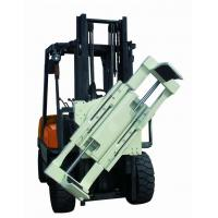 China Forklift Lifting Hook Attachments , Forklift Boom Attachment 55 Gallon Oil Drum Lifting Clamp on sale