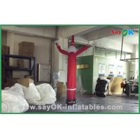 Quality Snowman Shape Indoor Inflatable Air Dancer For Holiday Advertising for sale